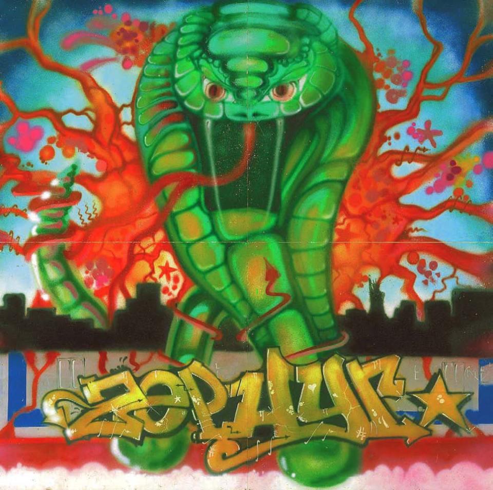 ZEPHYR, Venom, 1981, American Graffiti, Margo Thompson