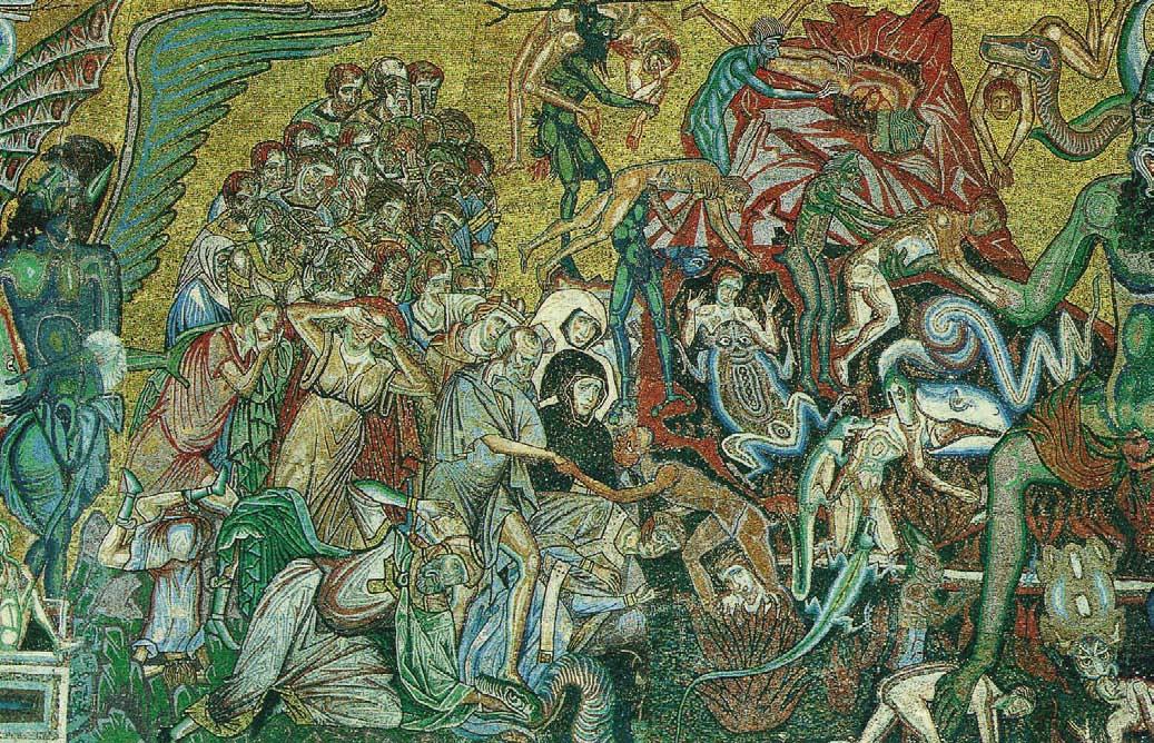 Coppo di Marcovaldo, The Infernal Chaos around Satan, c. 1270