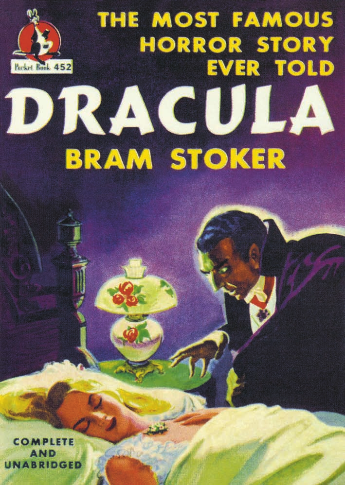 The Cover of Dracula, Pocket Book edition, 1947