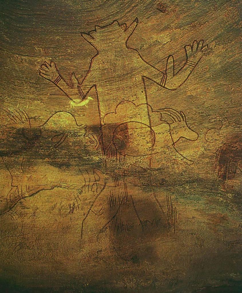 Der riesenhafte Geist, 5000 bis 3000, Satan, Beelzebub, Luzifer - Der Teufel in der Kunst, Arturo Graf