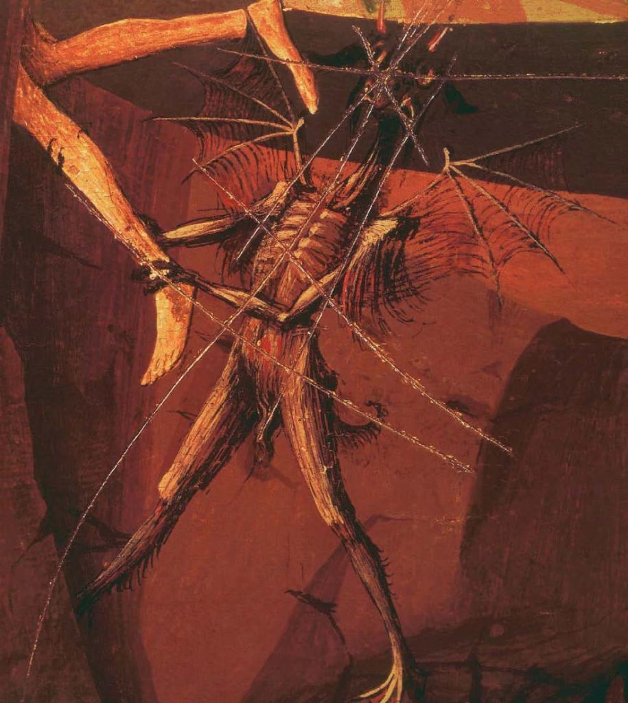 Marienkrönung (Detail), 1454, Satan, Beelzebub, Luzifer - Der Teufel in der Kunst, Arturo Graf