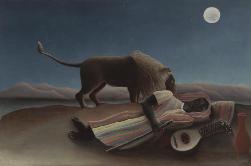 La Bohémienne endormie, 1897.