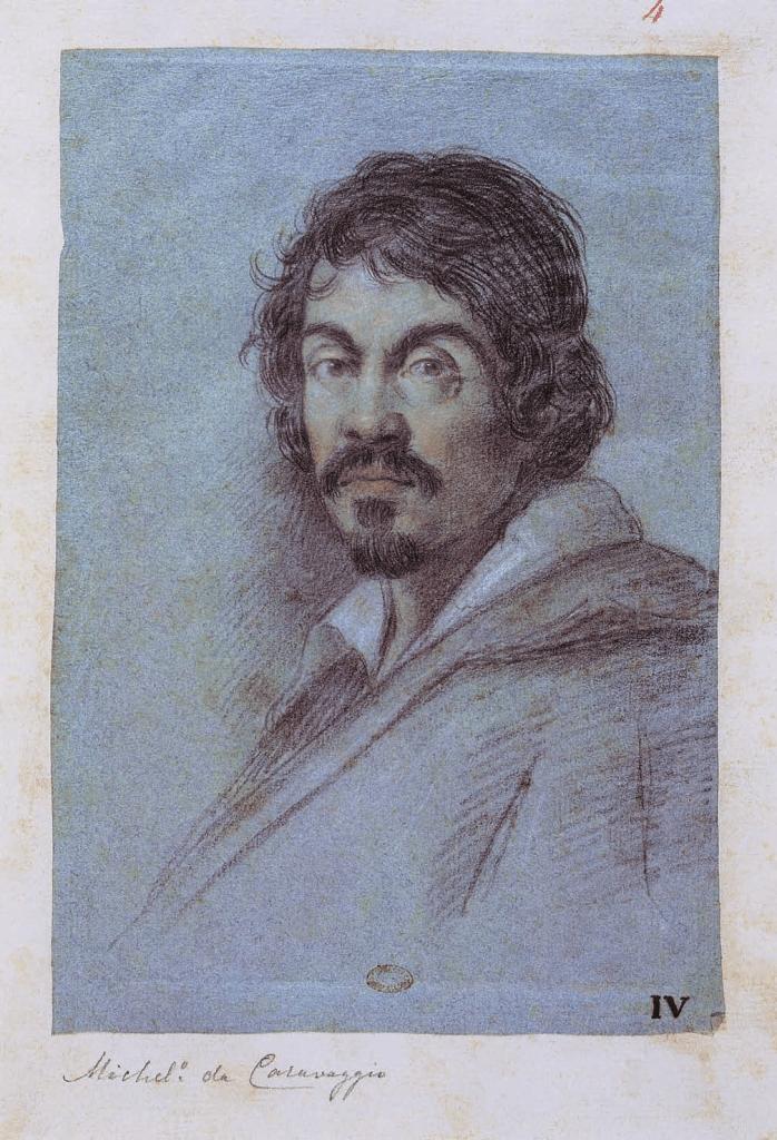 Ottavio Leoni, Portrait of Caravaggio, Michelangelo da Caravaggio, Félix Witting, M.L. Patrizi