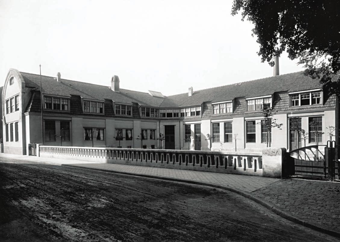 Gebäude der ehemaligen Großherzoglich-Sächsischen Kunstgewerbeschule in Weimar