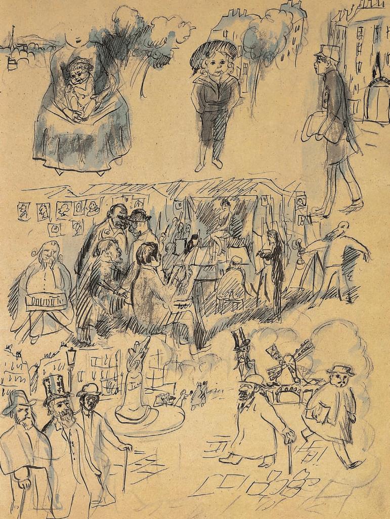 Pierre Bonnard, La Vie du peintre, Bonnard et les Nabis, Albert Kostenevitch