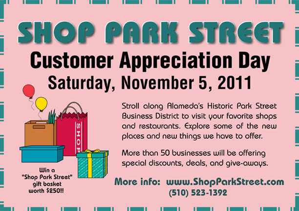 customer appreciation day flyer