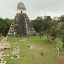 Flores and Tikal
