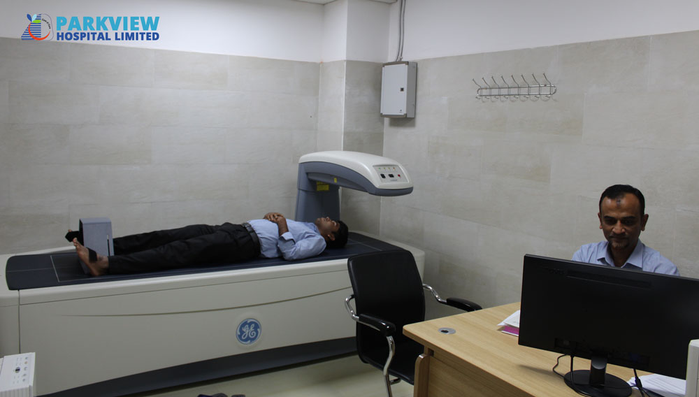 BONE MINERAL DENSITY TEST TO PREVENT OSTEOPOROSIS