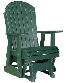 Adirondack Glider Chair - 2ft High Density Polyethylene