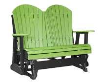 Adirondack Glider Chair - 4ft High Density Polyethylene