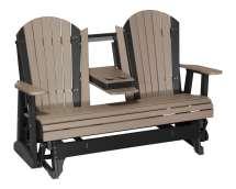 Adirondack Glider Chair - 5ft High Density Polyethylene