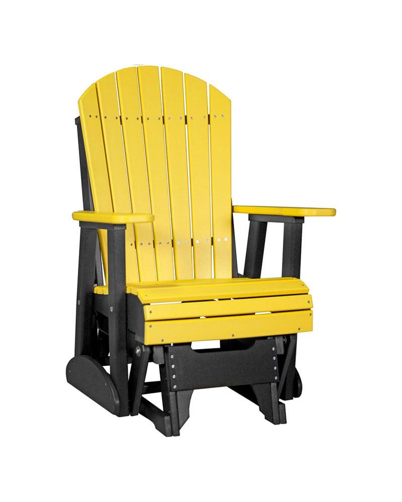 Adirondack Glider Chair  2ft  High Density Polyethylene
