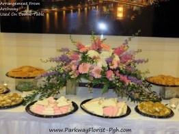 Archway-Cookie Table Arrangement