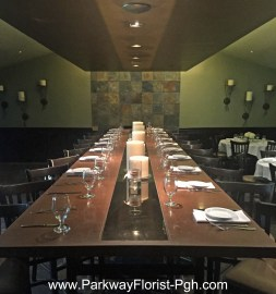 Willow Restaurant Head Table Camp Horne Rd