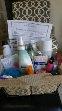 Basket for sale at Twisted Scissors Hair Salon in Burnsville, NC!