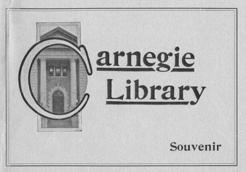 Souvenir Booklet - Carnegie Library