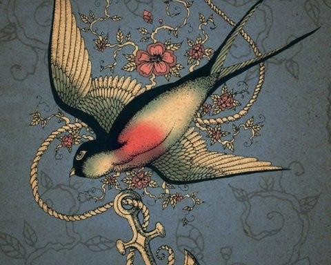 kuş çizimi
