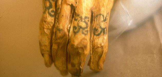 Chiribaya dövmesi