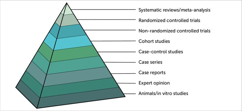 bilimsel kanıt piramidi