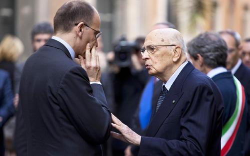 Napolitano getta la maschera, non è più il Presidente di tutti