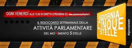 #5giornia5stelle/16 – #palesea5stelle – 1/11/2013 Live streaming alle 13.30