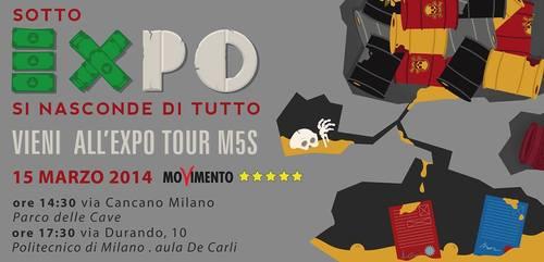 Expo Milano, 15 Marzo: il tour dei portavoce M5S nazionali e regionali