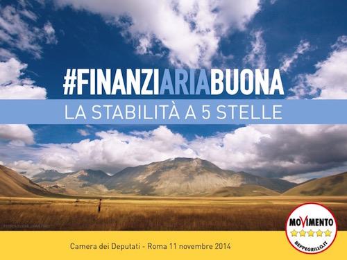 """#finanziAriabuona: ecco la """"legge di stabilità"""" del MoVimento 5 Stelle!"""