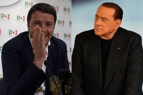 Così Renzi riabilita il condannato/interdetto Berlusconi
