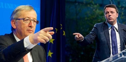 Conti pubblici: la UE sta per calare la mannaia. Grazie Renzi!