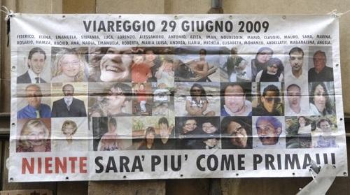 Strage Viareggio, Governo non ha fatto nulla per prevenirne altre