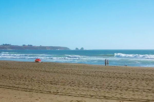 Playa de Pichilemu, Chile