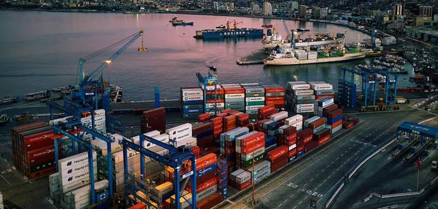 Puerto de Valparaíso, Chile