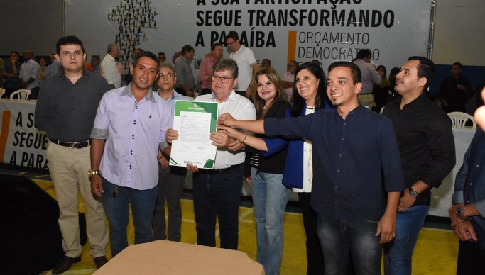 Resultado de imagem para João Azevêdo participa do ODE em Esperança e presta contas de ações do Governo