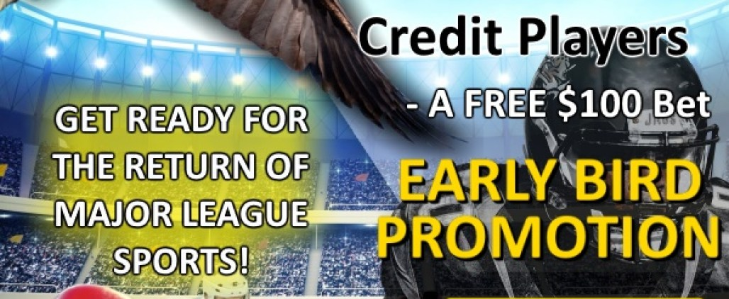 Football Early Bird Promotion