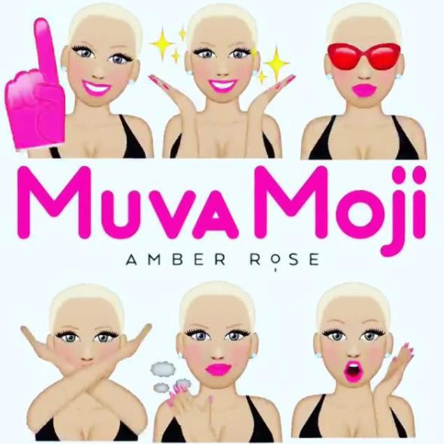 Amber Rose Leaps Into Her Next Business Move, Muvamoji