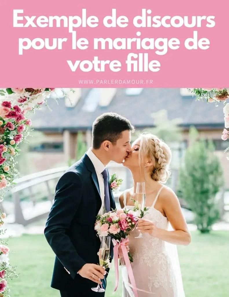 Discours D'une Maman Pour Le Mariage De Son Fils : discours, d'une, maman, mariage, Exemple, Discours, Mariage, Fille, Parler, D'Amour