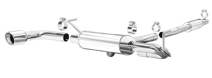 Magnaflow Exhaust 15328 for 2014-2015 Jeep Cherokee 2.4L AWD