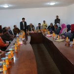 مكتب التواصل بإدارة الإعلام يحضر إشهار افتتاح جمعية بئر الأشهب للأعمال الخيرية
