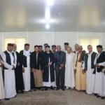 رئيس مجلس النواب يلتقي بوفود من قبائل الدرسه وفايد والعرفه والعواقير