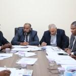 اجتماع لجنة الحكم المحلي