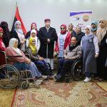 رئيس مجلس النواب ووفد من السيدات ذوات الإعاقة