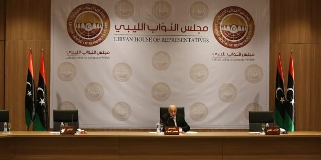 انعقاد أولى جلسات مجلس النواب بمقره الدستوري بمدينة بنغازي