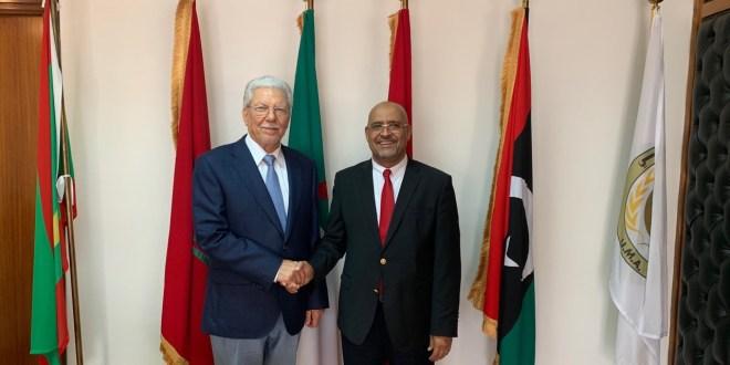 معالي النائب الصغير يلتقي الأمين العام لاتحاد المغرب العربي