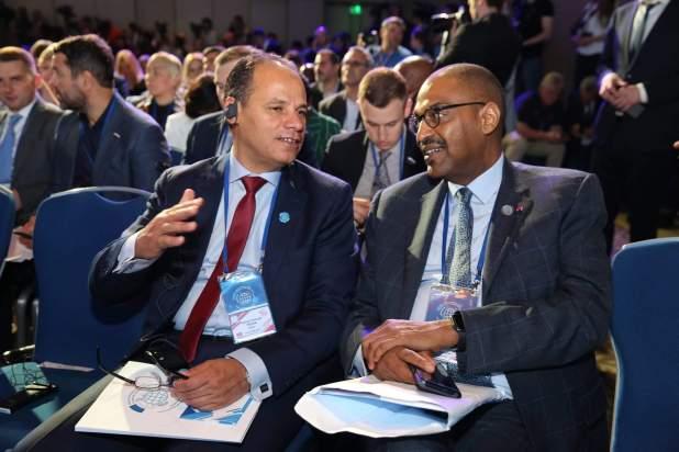 النائب الثاني ورئيس الديوان بمنتدى التنمية البرلمانية بموسكو