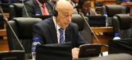 فخامة رئيس مجلس النواب يؤكد خلال كلمته في اجتماع رؤساء البرلمانات الإفريقية على الثوابت الوطنية