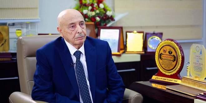 كلمة فخامة رئيس مجلس النواب القائد الأعلى للقوات المسلحة بشأن آخر مستجدات الأوضاع  في البلاد