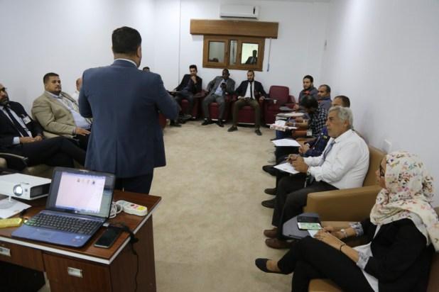 محاضرة لمكتب الأمن والسلامة بالديوان