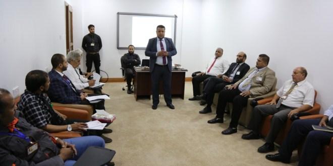 محاضرة توعوية لمكتب الأمن والسلامة بديوان مجلس النواب