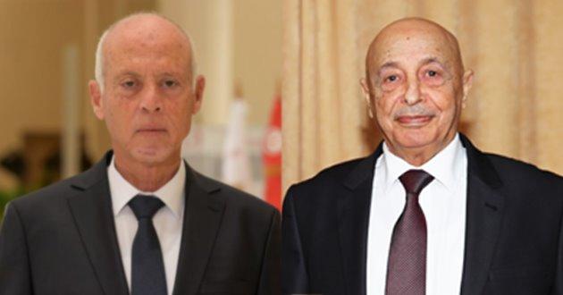 فخامة رئيس مجلس النواب يهنىء الرئيس التونسي قيس سعيد