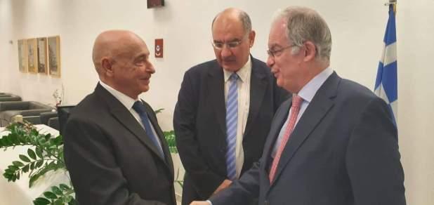 رئيس مجلس النواب و رئيس البرلمان اليوناني